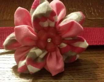 Dog collar flower