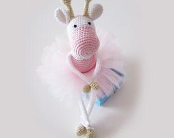 Giraffe Ballerina Crochet Toy PATTERN