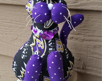 Baltimore Ravens Football Cat