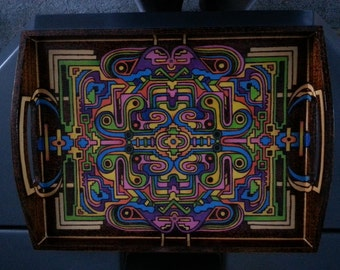 Serving Tray - Color graphic
