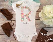 Custom Baby Onesie®, Custom Onesie, Personalized Baby Gift, Name Onesie, Baby Shower Gift, Baby Girl Clothes, Take Home Outfit, Monogram