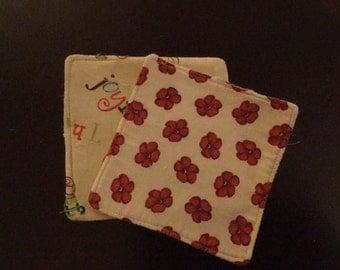 Fabric and felt Coasters