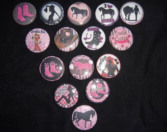 Rodeo Cutie Buttons Set of 15