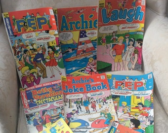 Vintage Archie Comics (price per set of 6 comic books)
