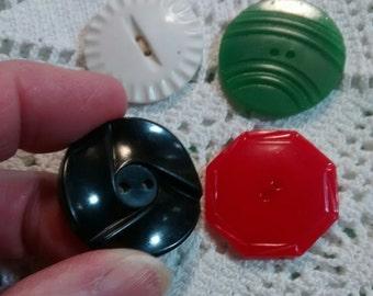 Celluloid Bakelite Casein Plastic Buttons