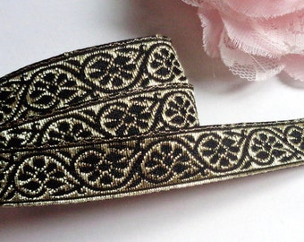 Jacquard Ribbon, 1/2 inch wide select length