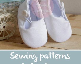 Christening Shoes SEWING PATTERNS Baptism Shoes patterns White Wedding Shoes  Baby Shoes  Boys Shoes Girl Toddler Shoes, 1610 patterns