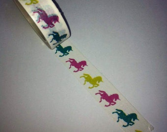 unicorn washi tape journal scrapbooking planner