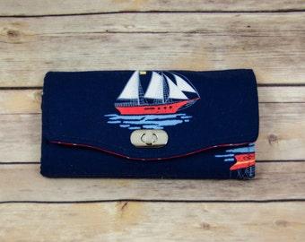 Ship Wallet Clutch