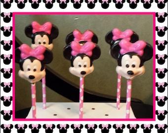 Minnie Mouse Lollipops