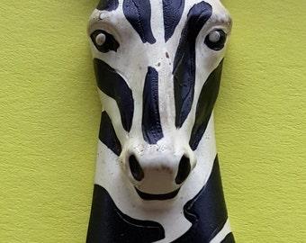 Fun Zebra Pendant Necklace