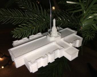 San Jose, Costa Rica LDS Temple Christmas Ornament