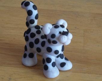 Snow Leopard Figurine