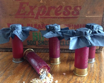 Shotgun Shell Bird Seed Thrower for Weddings Lot of 10