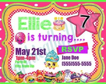 Custom Designed Invitations for Kids Party