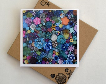 Floral Notecards - Box of 6 -Flower Power
