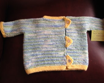 Baby's side buttoned sweater Size 9 months