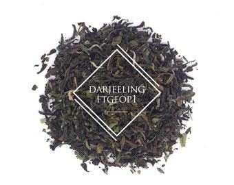 Darjeeling Second Flush FTGFOP1, Loose Leaf Tea, Black Tea