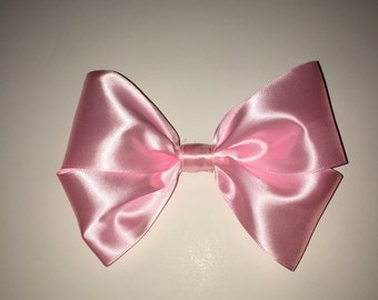 XL - Baby Pink - Double bow