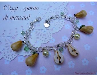 """Fimo bracelet """"fruity sweetness""""-Malinconiadinfanzia-Handmade"""