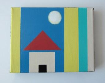 Original Abstract Art, House