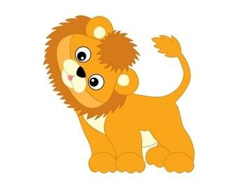 lion clipart – Etsy Baby Boy Lion Clipart