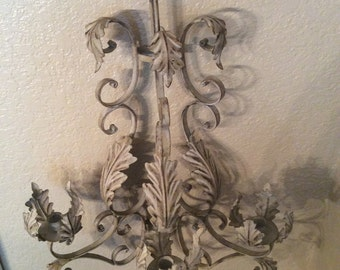 shabby chic candelabra candle holder