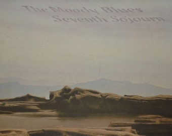 The Moody Blues record album Seventh Sojourn vintage vinyl record