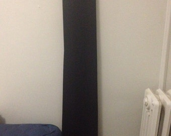 Sultry Black Velvet Maxi Backless Dress