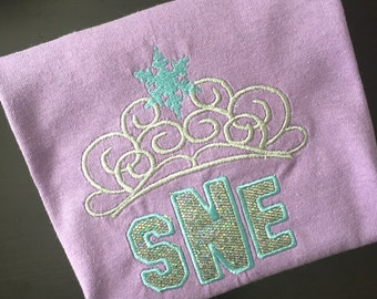 Elsia's Crown with monogram