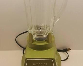 Waring Century 8 Avocado green blender
