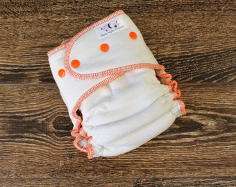 OS Nighty Night Fitted Overnight Diaper - One Size Cloth Diaper