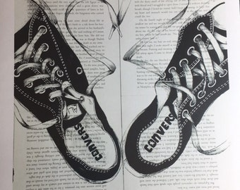 Converse loves you print