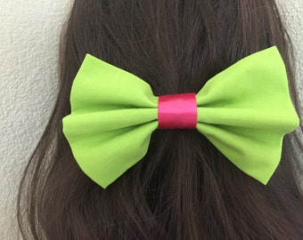 Lime Green Bow
