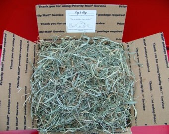 5 lb PREMIUM 2nd Cut Timothy/Orchard Grass RABBIT, CHINCHILLA, Guinea Pig, Gerbil & Hamster Hay
