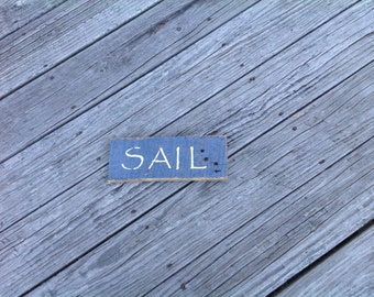 Sail Sign, Coastal,Beachy, Beach,Nautical