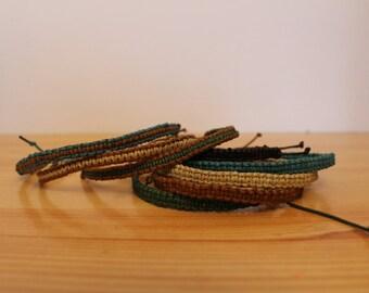 Friendship bracelet, choose your colour