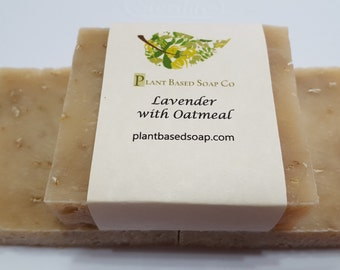 Lavender Oatmeal with Goat's Milk Soap Bar