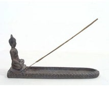 Decorative Stoned Effect Thai Buddha Ashcatcher Length 25cm