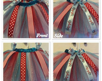 Dr.Seuss  Themed Tutu and Bow set