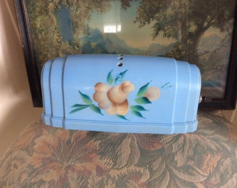 Vintage Headboard bed lamp, hand painted