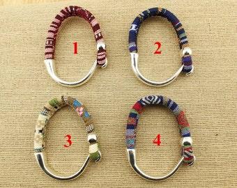 Cotton cord bohemian bracelet, S 328