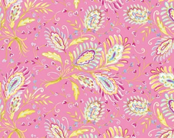 "Dena Designs ""Sunshine Collection"" Decorator Linen/Cotton Blend Fabric Heather in Pink 54/55"" Wide"