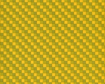 """Vicki Payne For """"Your Home Collection""""  Cotton Sateen """"Checks"""" in Olive Decorator Width 54/55"""""""