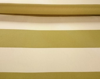 """Vicki Payne For Your """"Home Collection"""" Cotton Sateen Stripes -Ivory Decorator Width 54/55"""""""
