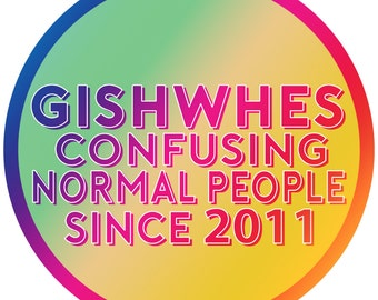 GISHWHES - Confusing Normal People Since 2011 Badge