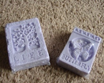 Life & Bufferfly Lavender Chamomile scented Goats Milk Soap