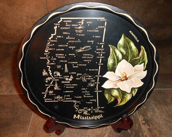Mississippi Collectible Tin Dish