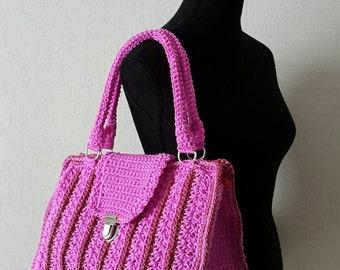 Handbag pink-red