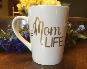 Mom mug, cute coffee mug, Mom Life, gift for mom, baby shower gift, mom to be gift